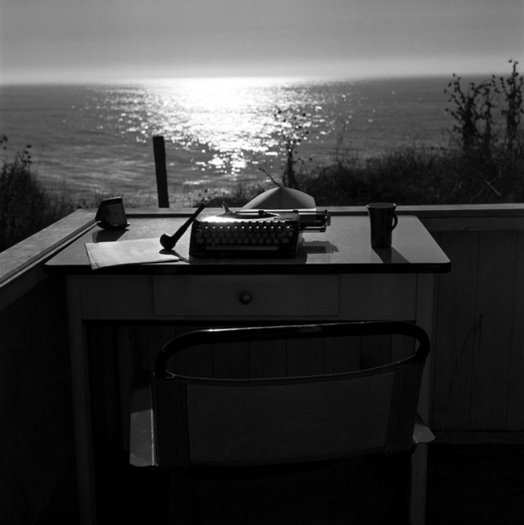 Typewriter Still Life, Big Sur
