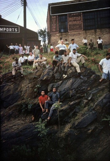 Paul Fusco, RFK Funeral Train #2616, 1968