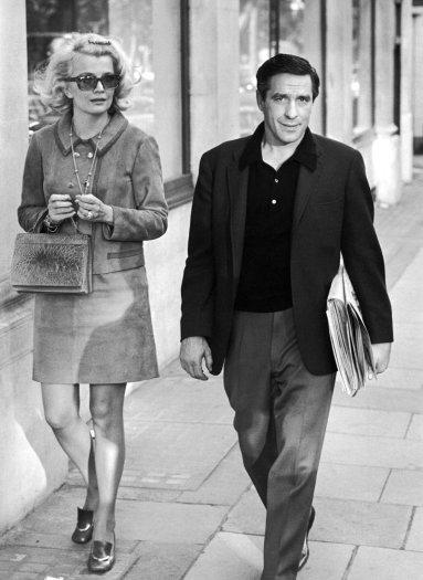 Gena Rowlands and John Cassavetes, London
