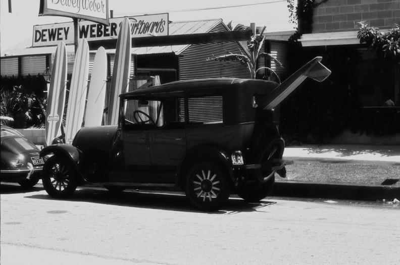 LeRoy Grannis, Surf Wagon at Dewey Weber Surf Shop, Venice, 1963