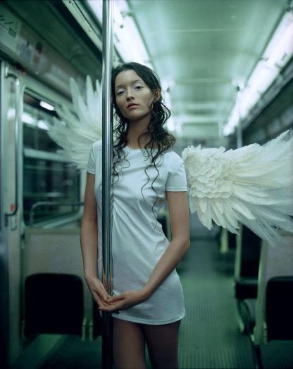 Jean-Baptiste Mondino, Subway Angel, 2000