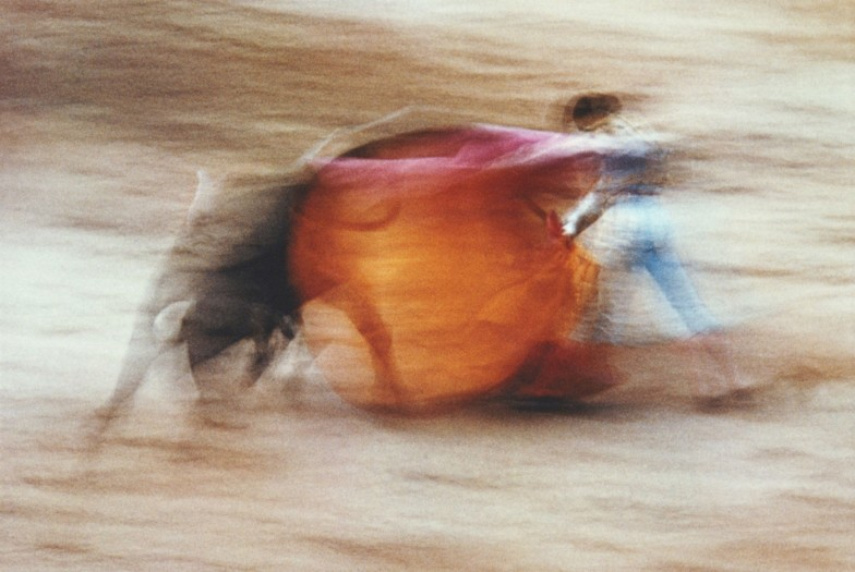 Ernst Haas, La Suerte De Capa, Pamplona, Spain, 1956