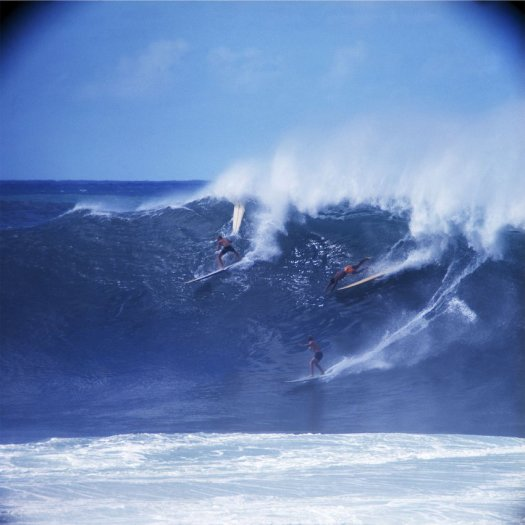 LeRoy Grannis, Ron Newman, Unknown, Ponce Rosa, Waimea Bay, 1966