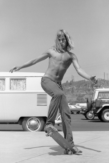 Hugh Holland, Silver Skater, Del Mar Racetrack, San Diego County, CA, 1975