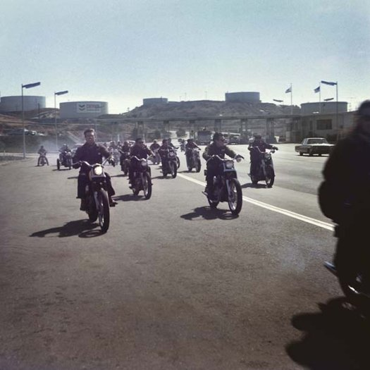 Hell's Angels, Riding, California