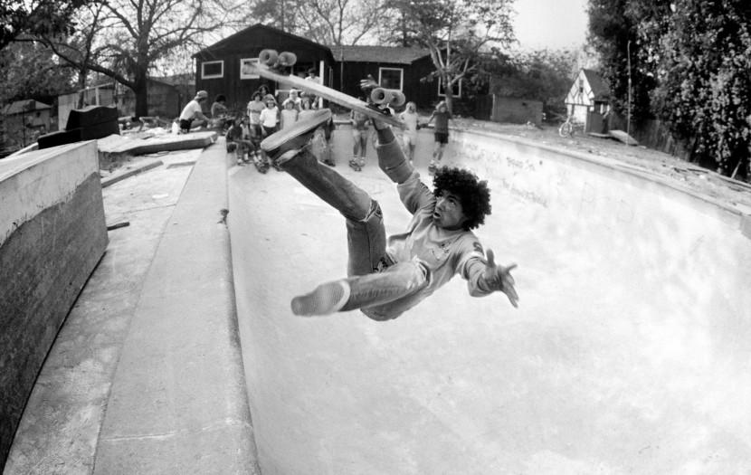 Hugh Holland, Backyard Pool Bail, San Francisco Bay Area, 1977
