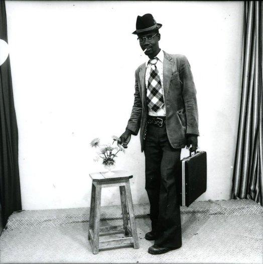 Malick Sidibé, Aprés le studio, le voyage à France, 1972, printed later