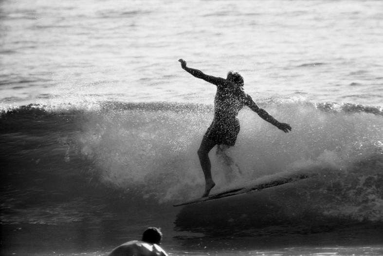 LeRoy Grannis, The Dance, Dewey Weber, 22nd Street, Hermosa Beach, 1961