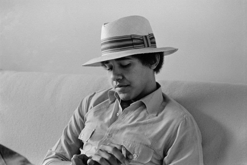 Lisa Jack, Barack Obama, Occidental College, No. 34, 1980