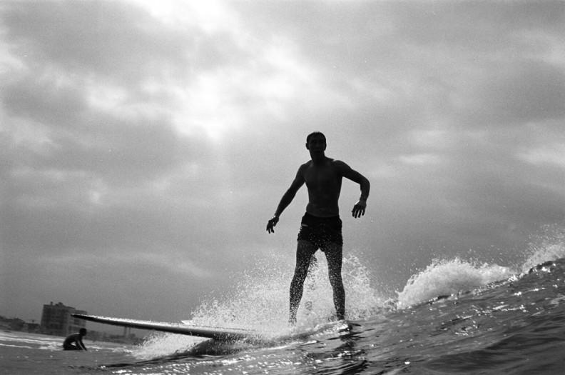 LeRoy Grannis, Unidentified, 22nd Street Hermosa Beach, 1963