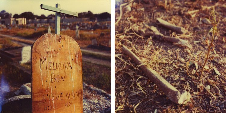 Mike Brodie, The Pauper's Graveyard // New Orleans, Louisiana (diptych), 2005