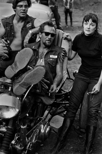 Hell's Angels, Sonny and Girl with Pipe