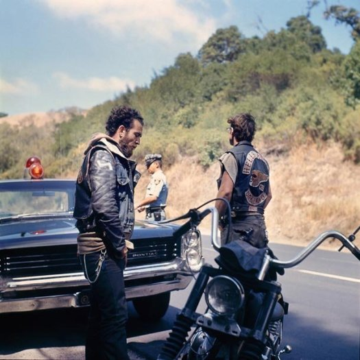 Hell's Angels, Traffic Stop