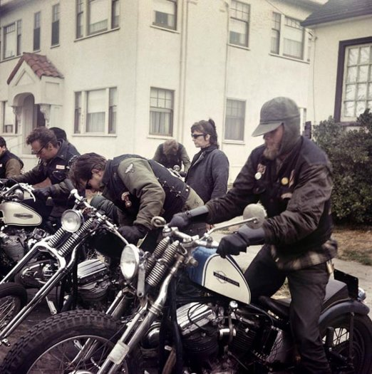 Hell's Angels, Start Up, California