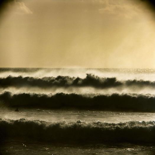 LeRoy Grannis, Big Storm Surf at Ehukai Beach (near Pipeline), 1969