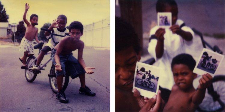 Mike Brodie, The Polaroid Kids // Portland, Oregon (diptych), 2005