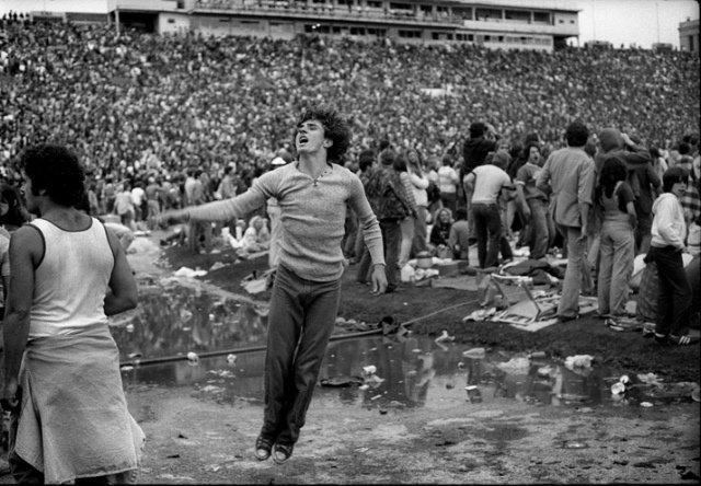 Joseph Szabo, Rolling Stones Fans No. 20, JFK Stadium, Philadelphia, 1978