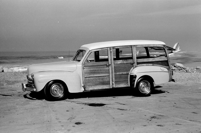 LeRoy Grannis, Surf Woody, Redondo Breakwater, 1963