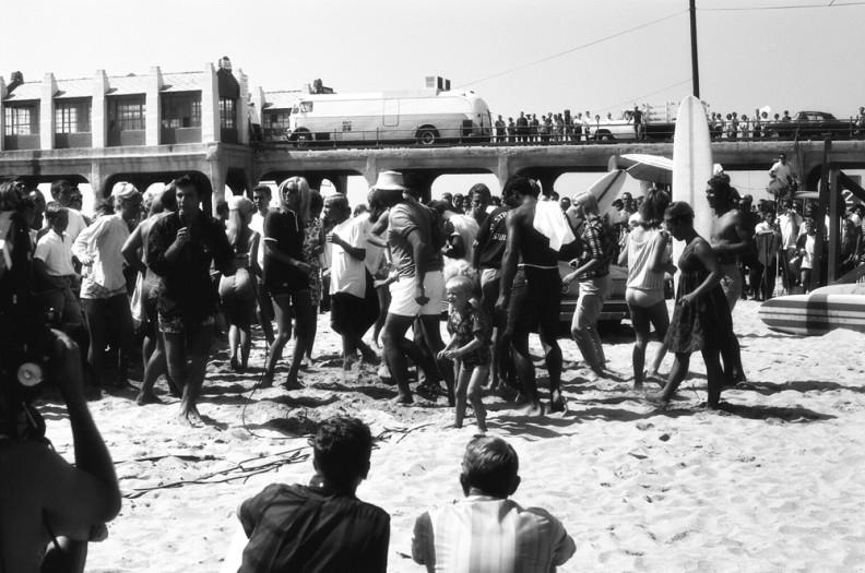 LeRoy Grannis, Beach Stomp, Huntington Beach, 1965