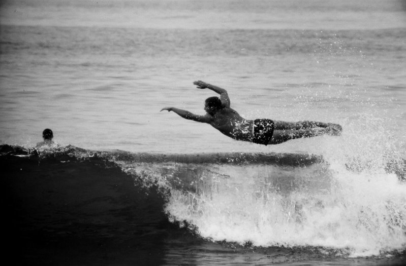 LeRoy Grannis, Flyboy, 22nd Street, Hermosa Beach, 1964