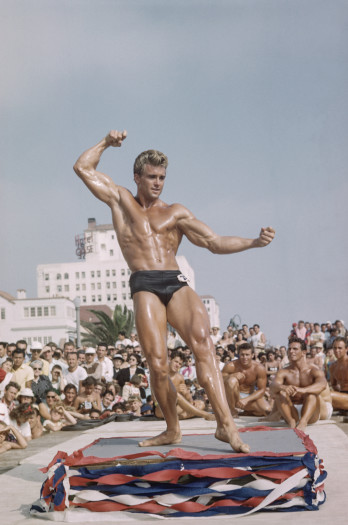 Ed Holovchik aka Ed Fury (Muscle Beach #11), Santa Monica, California