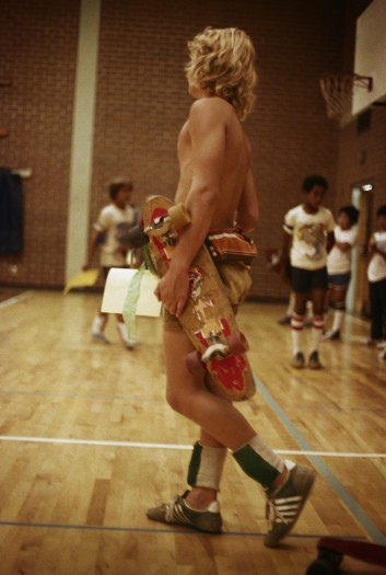 Hugh Holland, Skater School, Orange County, 1977