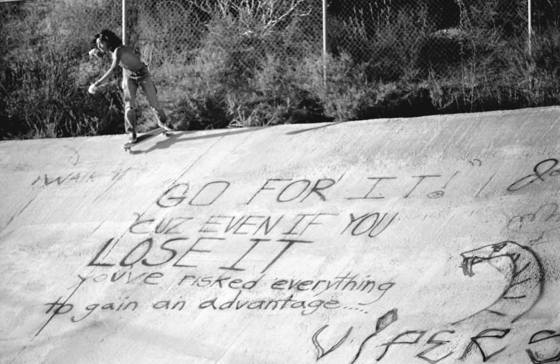 Hugh Holland, Go For It, Viper Bowl, Hollywood, CA, 1976