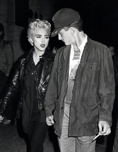 Madonna and Sean Penn attend a performance of Goose and TomTom, New York, August 28