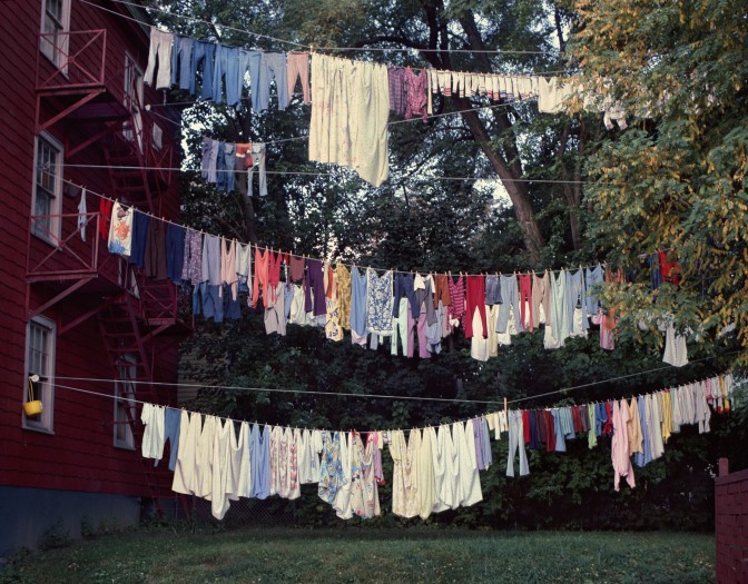 Looking Forward 08 (Clothes Line)