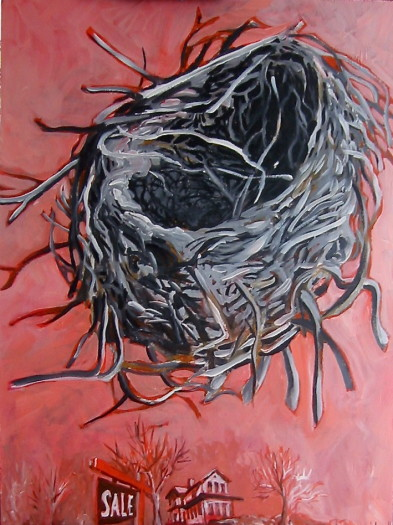 Nest with land for sale