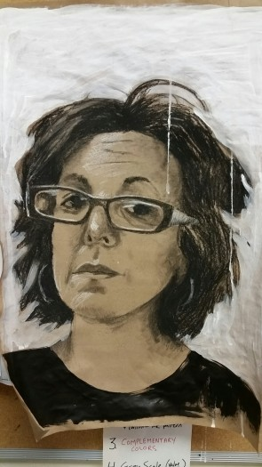 E. Tilly Strauss, self Portrait, 2016
