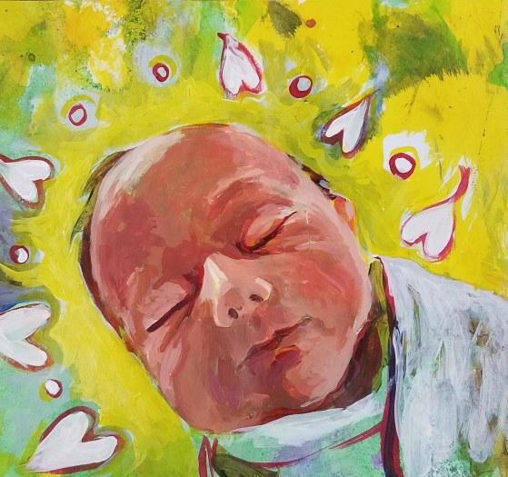 E. Tilly Strauss, Baby Eli, 2019