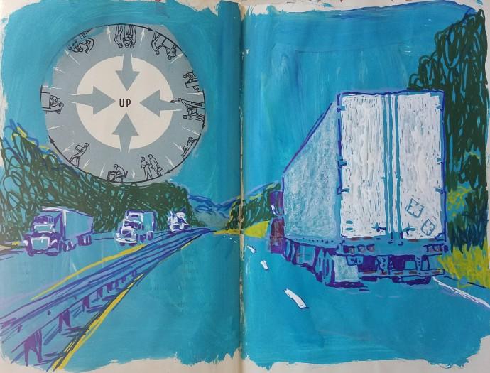 E. Tilly Strauss, Truck lines, 2018