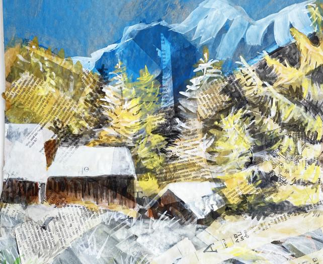E. Tilly Strauss, Mountain Granaries, 2020
