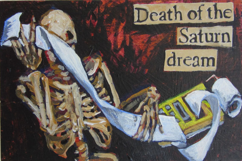 E. Tilly Strauss, Saturn Dream, 2011