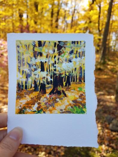 E. Tilly Strauss, Fall Wood, 2019