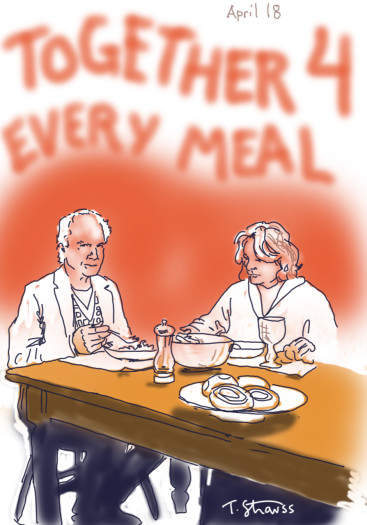 E. Tilly Strauss, April 18 Together F Every Meal, 2020