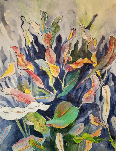 E. Tilly Strauss, Florida Foliage (plant Grant), 2018
