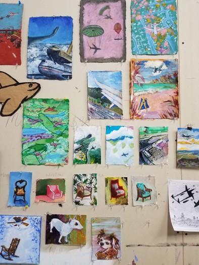 Studio Wall February