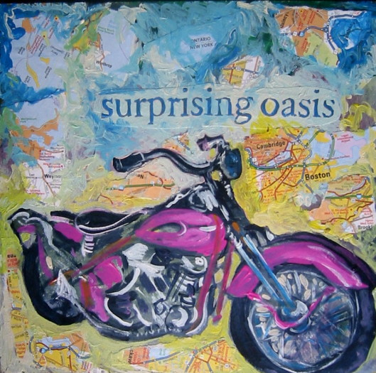 E. Tilly Strauss, Motorcycle Oasis, 2009