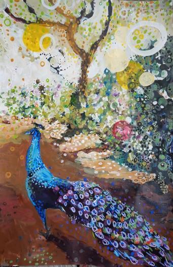 E. Tilly Strauss, Peacock Path, 2019