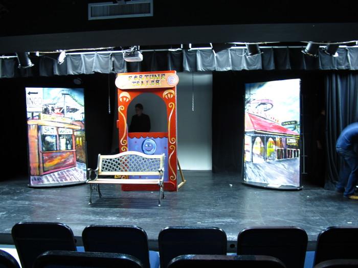 E. Tilly Strauss, Stage Set, 2012
