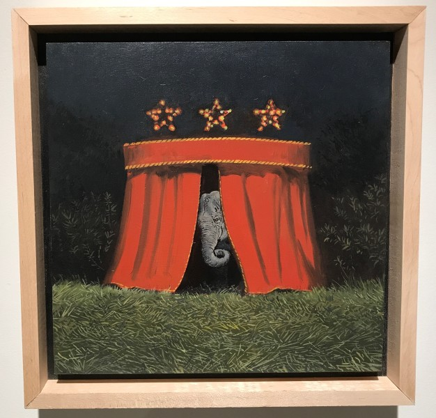 Daniel Blagg, Curtain Call, 2018