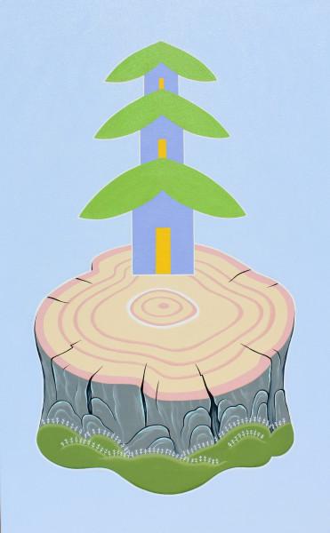 Peter Harrington, Tree Stump Pagoda