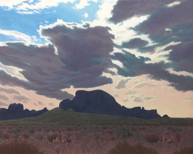 Dennis Blagg, Dark Cloud Over Alsate, 2018