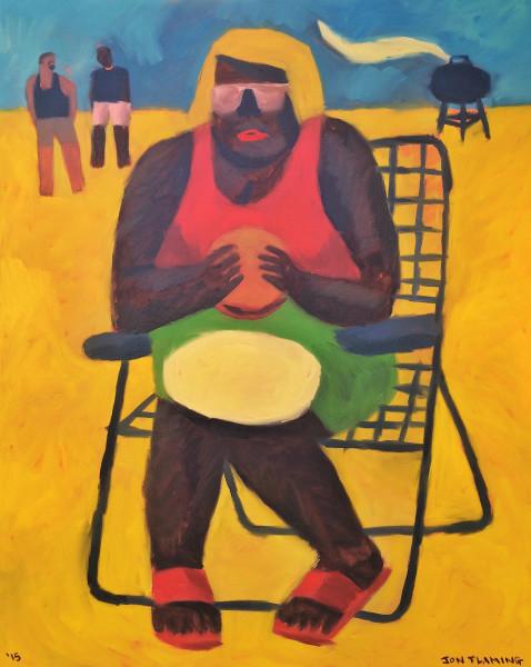 Jon Flaming, BBQ Sandwich, 2015