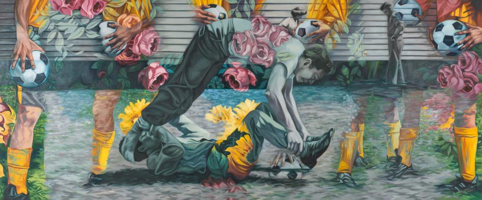 Devon Nowlin, Painting For Men, 2018