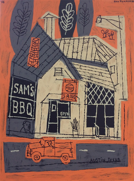 Jon Flaming, Sam's BBQ, 2016