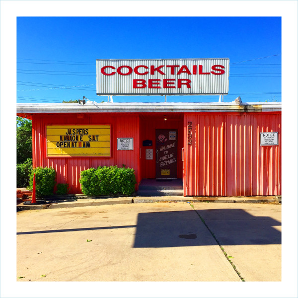 William Greiner, Cocktails Beer, Fort Worth TX, 2018