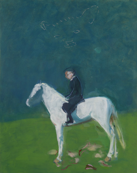 Susan Harrington, Rider on White Horse, 2018